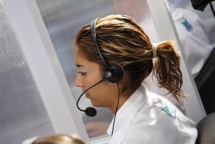 callcenter-medewerkster