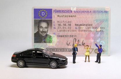 rijbewijs bij baan